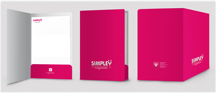 Proceso creativo de la identidad visual corporativa: Simpley adn studio Barcelona