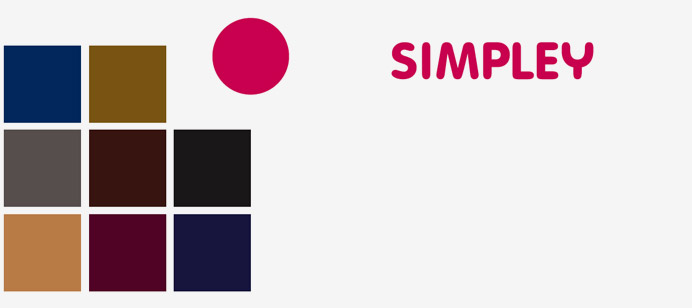 Procés creatiu de la identitat visual corporativa: Color corporatiu  Per marcar la diferència en la identitat visual corporativa, el color és un dels elements que ens permetran atreure l'atenció i diferenciar-nos d'un sector avorrit, caspós, formal i anodí. L'ús d'un color antagònic als competidors de la marca. Marrons, negres, grisos, granats i daurats permeten crear una identitat visual corporativa notòria i revolucionària en el sector de les assessories legals.