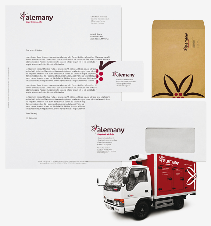 papeleria-completa-imagen-corporativa-branding-diseno-de-logotipo-e-imagen-corporativa-para-el-fabricante-y-distribuidor-de-postres-helados-alemany-adnstudio