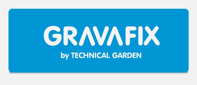 Logotip Llançament de producte, disseny d'imatge de marca i presentació corporativa per a Gravafix