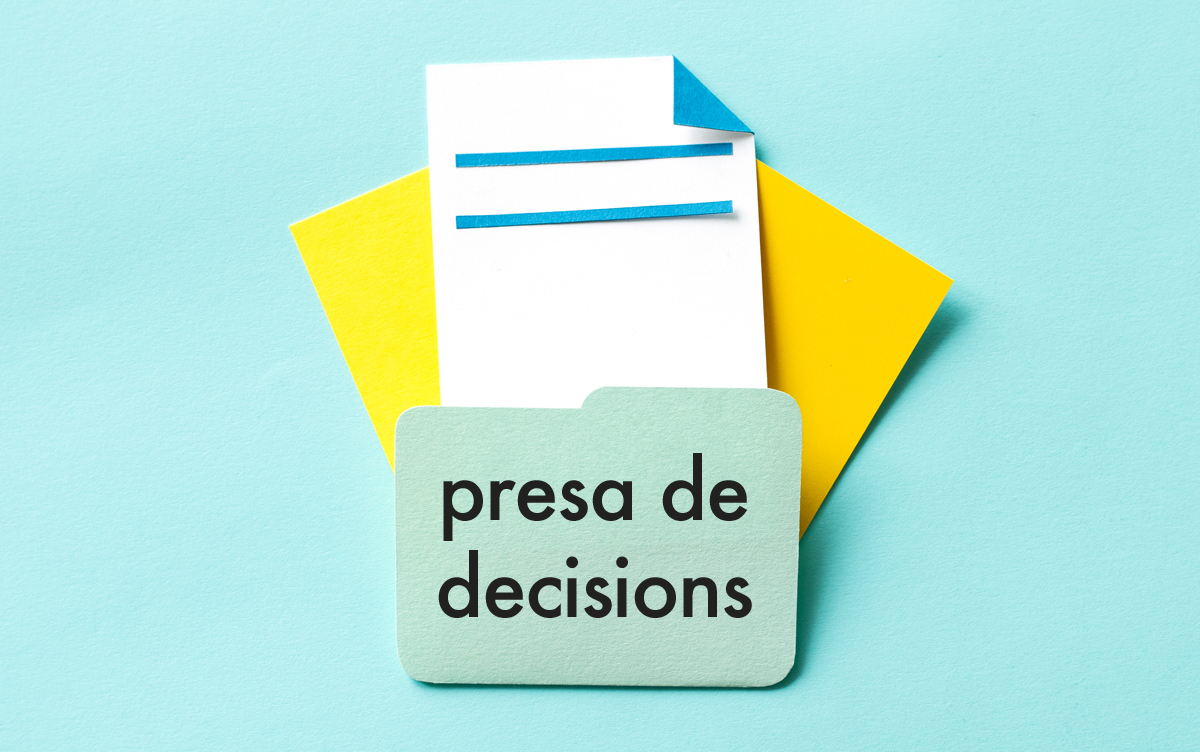 Briefing de publicitat - Presa de decisions