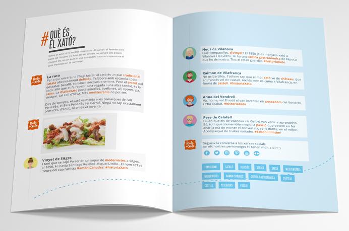 Disseny i comunicació de la campanya de promoció turística - Diseño y comunicación de la campaña de promoción turística de la Ruta del Xató