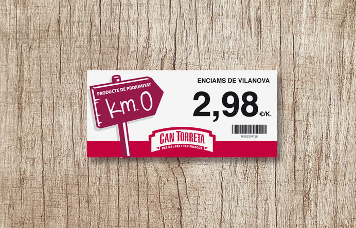 packaging-retail-etiqueta-km0-branding-posicionamiento-de-marca-identidad-corporativa-tono-de-comunicacion-cadena-supermercados-can-torreta-alimentacion