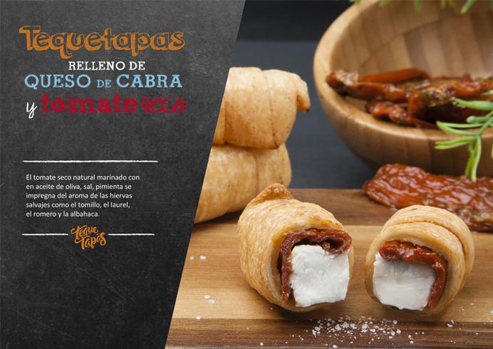 Diseño de packaging, branding, imagen, lanzamiento de producto y comunicación retail de la marca del sector alimentación TequeTapas