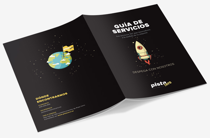 diseño de la guía de servicios para Pymes