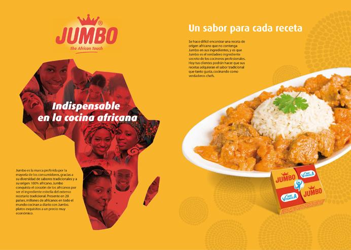 branding Jumbo Campaña de publicidad del sector alimentario para la marca de gran consumo Jumbo de GB Foods. Estrategia, creatividad y diseño gráfico