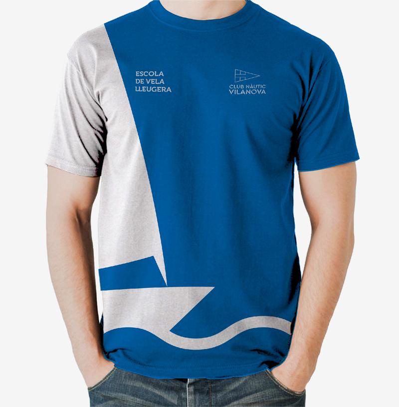 Diseño de identidad corporativa para el Club Nàutic Vinanova - Branding, rediseño de marca, imagen corporativa