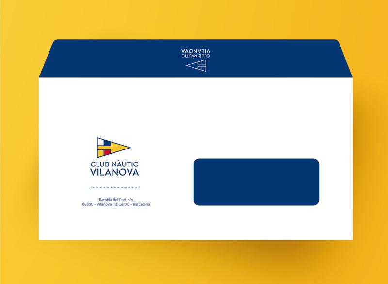 Sobre Diseño de identidad corporativa para el Club Nàutic Vinanova - Branding, rediseño de marca, imagen corporativa