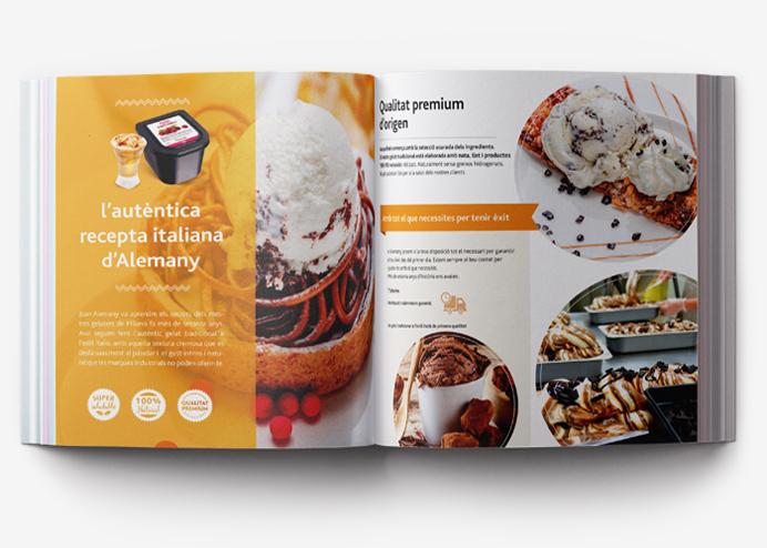 Estrategia de comunicación basada en la segmentación de mercados del sector alimentación para Helados Alemany. Restauración, tiendas gourmet, heladerías tradicionales