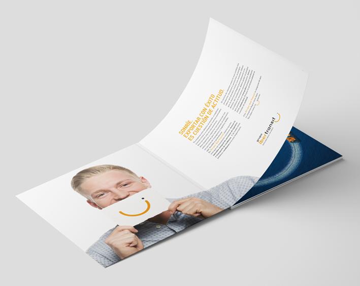 Catálogo - identidad corporativa para la empresa de transporte y logística Grupo Ibertransit