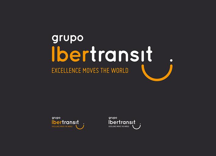 branding-identidad-corporativa-logo-transito-negativo-gris-para-la-empresa-de-transporte-y-logistica-grupo-ibertransit-comunicacion-publicitaria