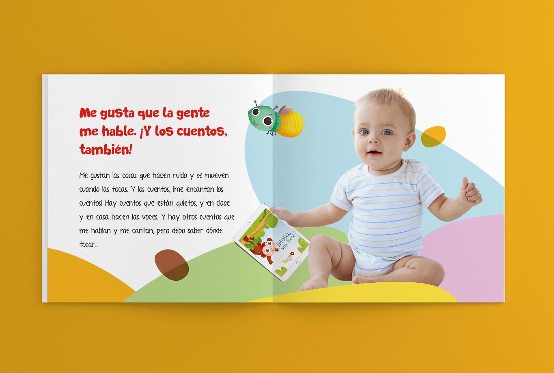 Branding y comunicación para la editorial edebé - Proyecto Veo Veo, educación infantil 16