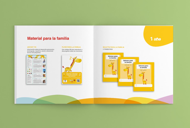 Branding y comunicación para la editorial edebé - Proyecto Veo Veo, educación infantil 27