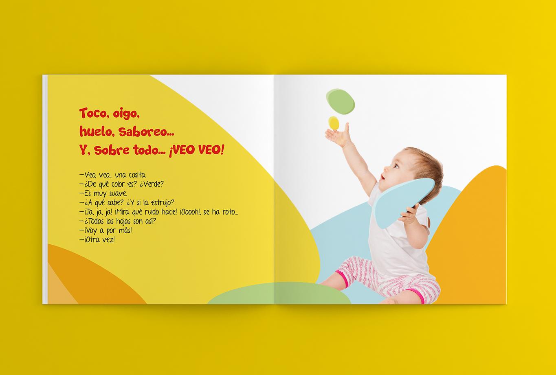 Branding y comunicación para la editorial edebé - Proyecto Veo Veo, educación infantil 11