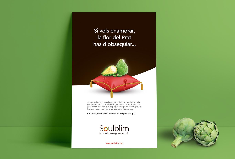 Imagen corporativa del Proyecto de branding estratégico para la empresa Soulblim que define naming, logotipo, identidad corporativa, posicionamiento de marca y tono de comunicación