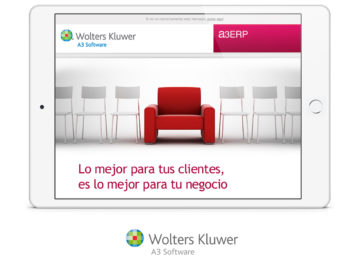Campaña de e-mail marketing para la captación de distribuidores para A3 Software de Wolters Kluwer