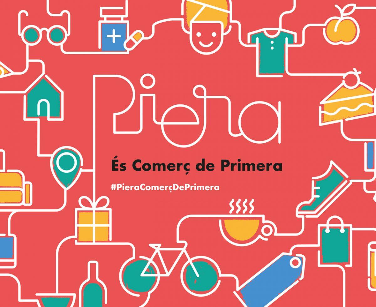 Campanya de publicitat per promocionar el comerç de proximitat - Vila de Piera - Banner