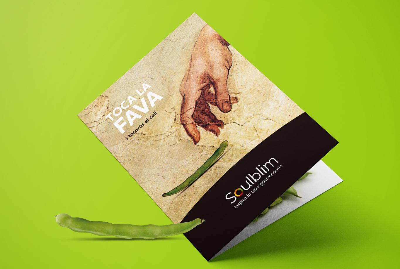 Publicidad creativa para Instagram - Diseño de folleto