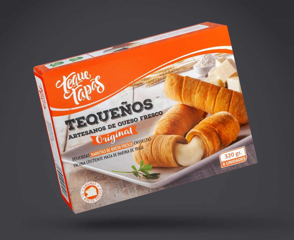 Branding, comunicación y packaging para la marca de alimentos latinos Teque Tapas