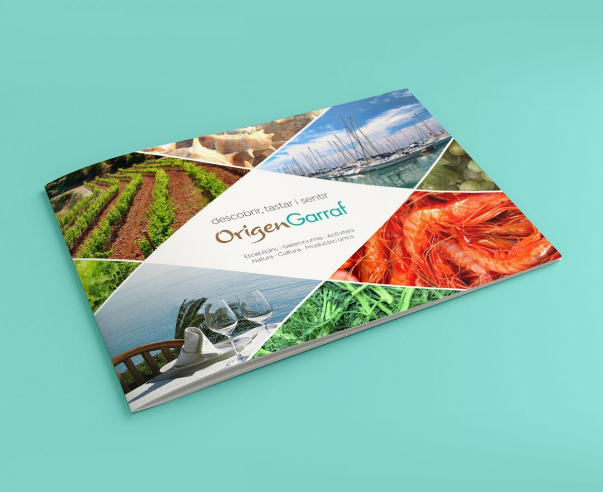 Catálogo de turismo gastronómico para Origen Garraf