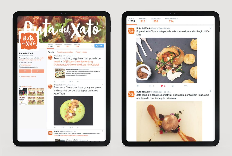Disseny de campanya de publicitat gastronòmica per a la Ruta del Xató